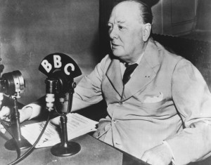 Winston Churchill Broadcast From White House