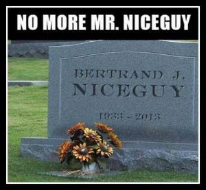 No more Mr. Nice Guy. Foto: @calebwilde